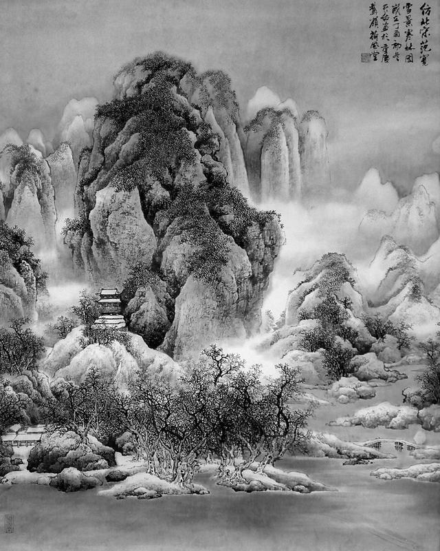 画家杨天佑山水画传统与现代的嬗变