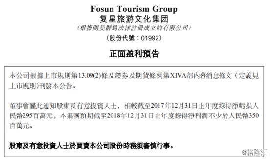 复星旅游文明(1992.HK):穷冬里的暖阳,春天会更绚烂