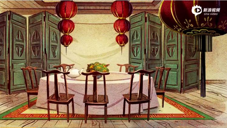 迪士尼为中国的狗年制作了一部动画短片
