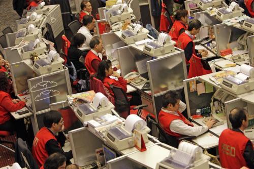 港股恒指涨1.81% 内银股集体大涨