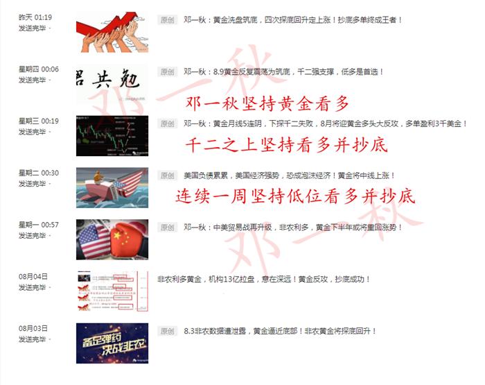 8.11 黄金抄底文章合集.png