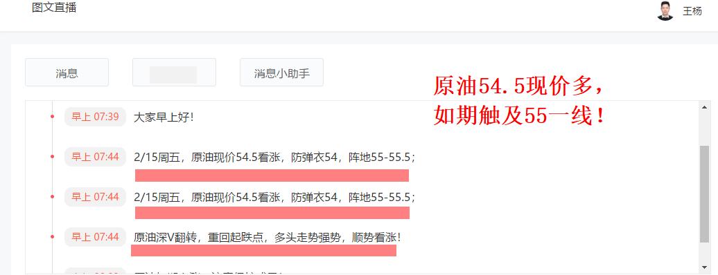 王杨:黄金准期上涨,今晚回落1316继承多!